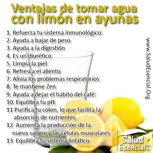 13 ventajas y 9 efectos secundarios de tomar agua con limón en ayunas