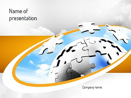 12 best Business Education and Training Presentation Themes images - puzzle powerpoint template