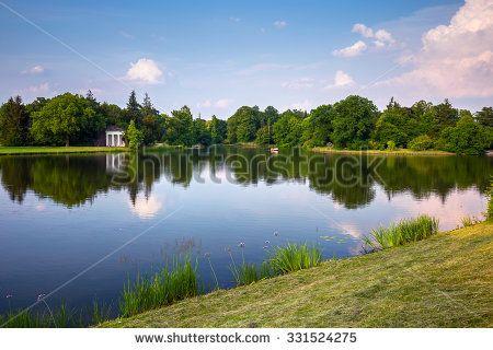 English park of Woerlitz. Dessau, Saxony-Anhalt, Germany
