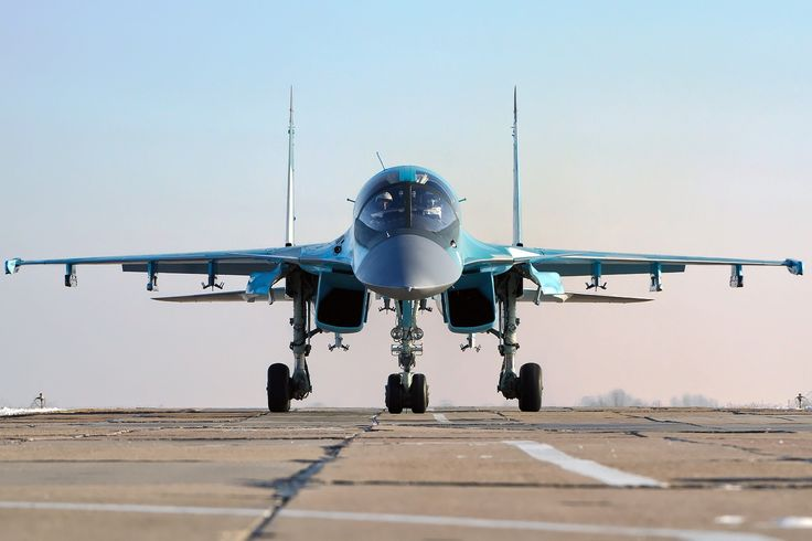 Russian Air Force Sukhoi Su-34 - Sukhoi Su-34 - Wikipedia, the free encyclopedia