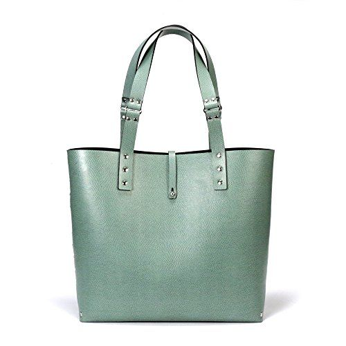 Mint Green Tote Bag | Green Tote | Vegan | Made in USA