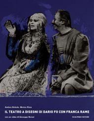 Il teatro a disegni di Dario Fo con Franca Rame | Scalpendi Editore