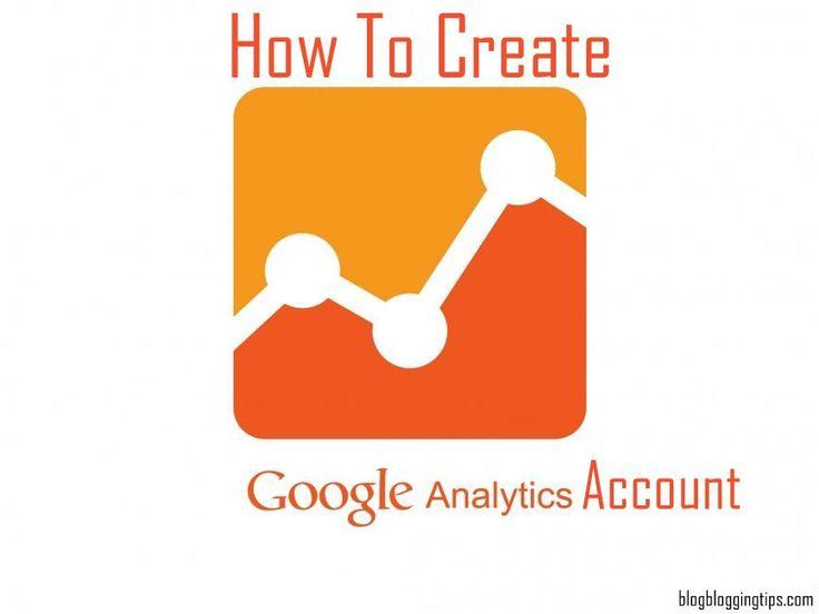 How to create google analytics account?