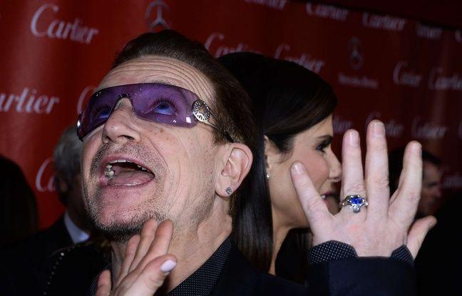 U2: Bono était-il «déguisé en juif hassidique» lors de sa chute de vélo?