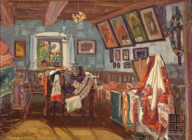 martin Benka, Slovácka izba 1916