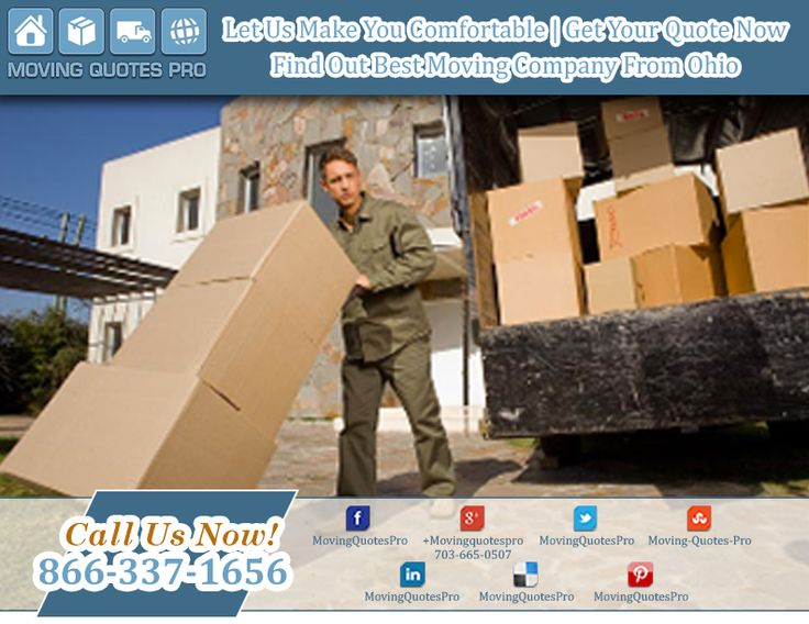#movers #Ohio move while you relaxed – Find your quote now - Click here