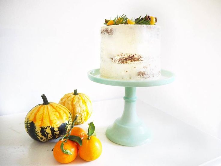Soft carrot cake with  heart of melting caramel, perfect for winter or fall celebration