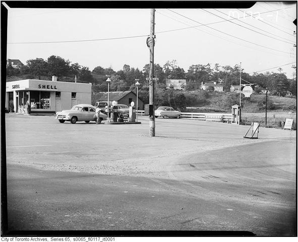 Yonge and York Mills. 1957
