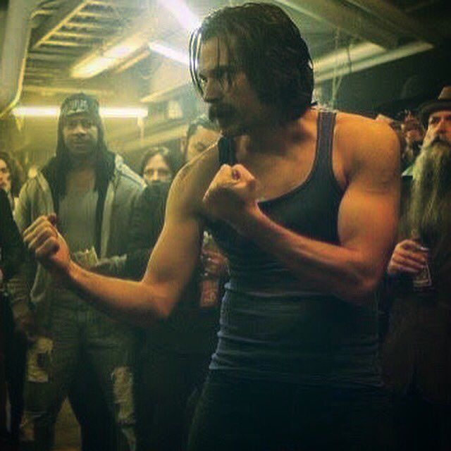 Doc Holliday in Wynonna Earp.  Old Timey boxing at its best.