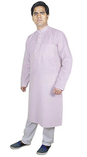 Mens Clothing Outdoor Kurta Pajama Punjabi Ethnic Indian Party Wear Pink Size M RoyaltyLane http://www.amazon.co.uk/dp/B01AFYWY9K/ref=cm_sw_r_pi_dp_rUJQwb1EEYJP5