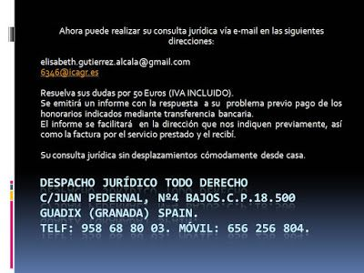 TODO-DERECHO DESPACHO JURÍDICO : Realice su consulta jurídica por e-mail sin movers...