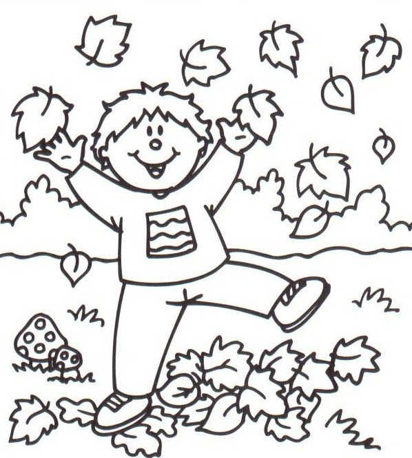 coloring pages fall themed - photo#12