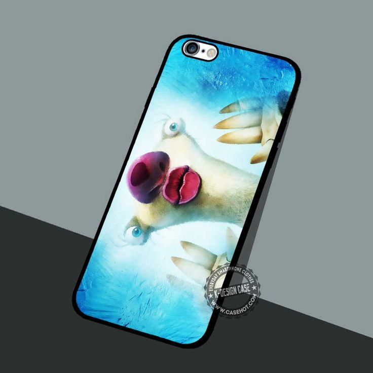 Ice Age Cartoon - iPhone 7 6 5 SE Cases & Covers