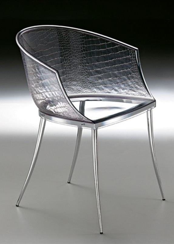 Dandy - chair with body in acrylic and relief texture   chair . Stuhl .  chaise   Design: Archirivolto   Fiam Italia  