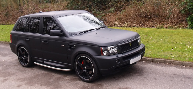 matte black range rover sport things pinterest nice range rovers and land rovers. Black Bedroom Furniture Sets. Home Design Ideas
