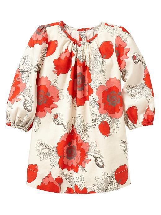 Gap | Poppy print dress