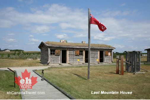 The Last Mountain House Hudson's Bay Trading Post was one of the last fur trading posts to operate in Saskatchewan.
