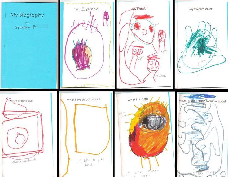 Preschool Literacy Portfolios: Writing Samples, Write the Room, Name Writing, Story Retelling...