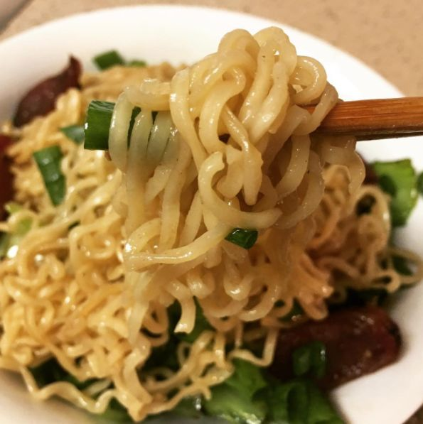 Flavor your ramen with soy sauce and garlic powder instead of the included packet. | 22 Cheap and Easy Ways To Eat Healthier In College