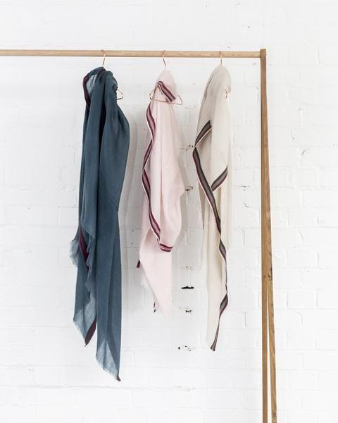 merino wool silk scarf, (available in three shades) $59 www.sassind.com
