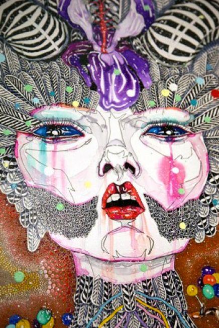 Del Kathryn Barton Artwork