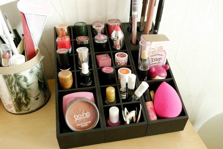 1000 Id Es Sur Le Th Me Rangements Maquillage Sur Pinterest Organisation De Maquillage Salon