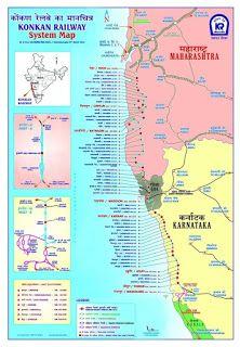 Konkan Railway Station Map
