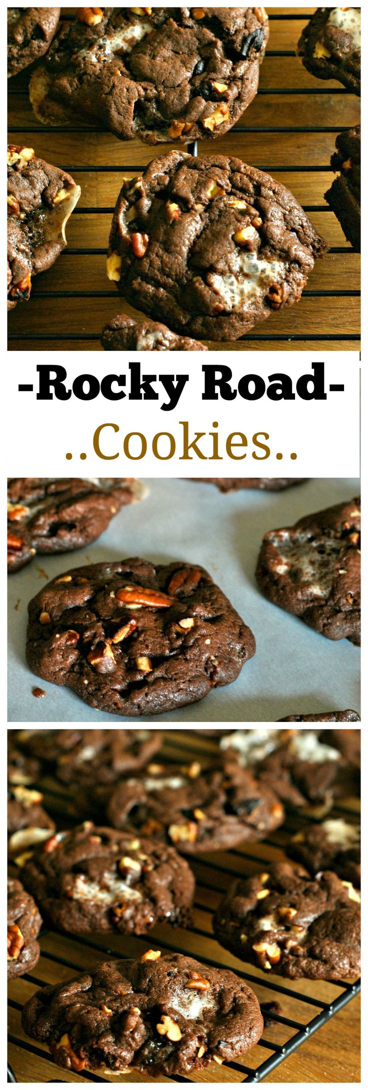 A classic ice cream is transformed into a delicious and soft cookie. Rocky Road Cookies can be prepared quickly and will leave everyone asking you for the recipe!