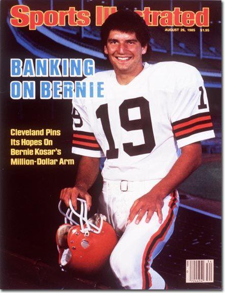 Bernie Kosar, Football, Cleveland Browns