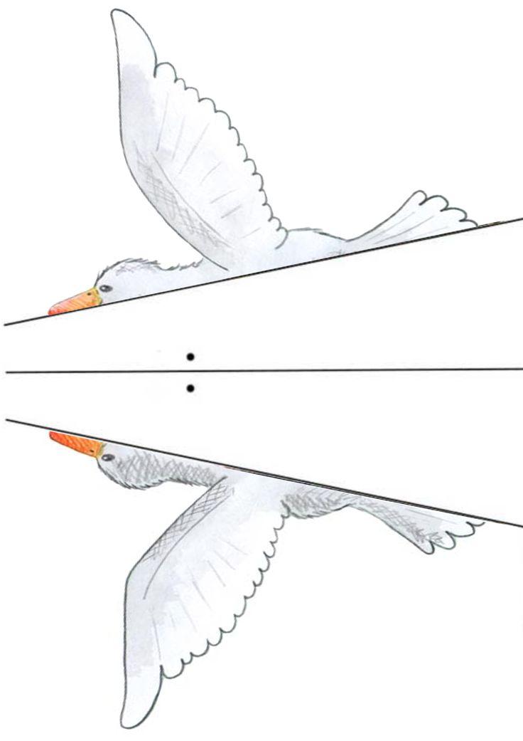 Könnyű ludas papírsárkány Szent Márton napra_ Easy goose kite for sankt martin day