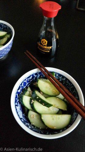 Japanischer Gurkensalat | asien-kulinarisch.de