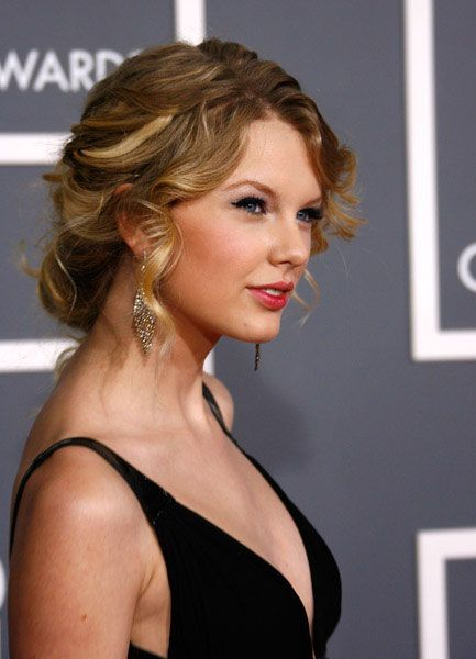 Hair (Taylor Swift Loose Textured Updo)
