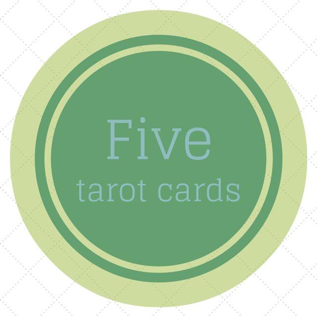 Tarot w praktyce: Rozkład na pięć kart