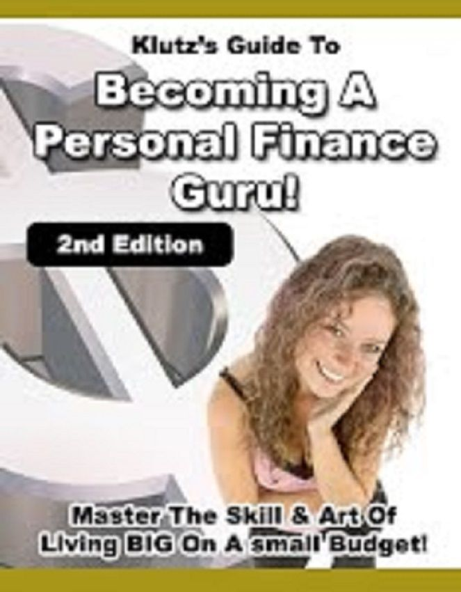 Living BIG on a small Budget-------become a Financial Guru ---CD