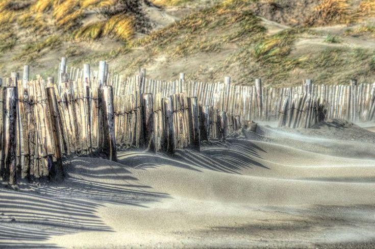 Dutch beach by Watze D. de Haan