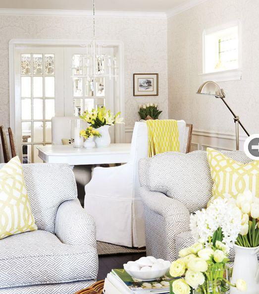 Suzie: Style at Home - Christine Hanlon - Virginia MacDonald Photography - Gorgeous gray & ...