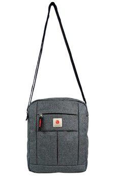 Pria > Tas > Tas Selempang > Polo Classic 6197A Sling Bag - Grey > Polo Classic