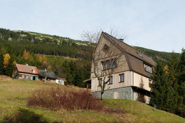 horská chata Svatý Petr | znameniiii - architekti s.r.o.