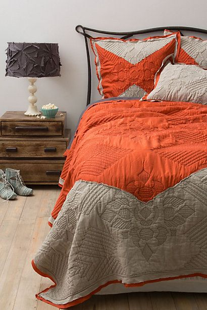 Keo Bedding #anthropologie    All I want for Christmas.  Seriously.