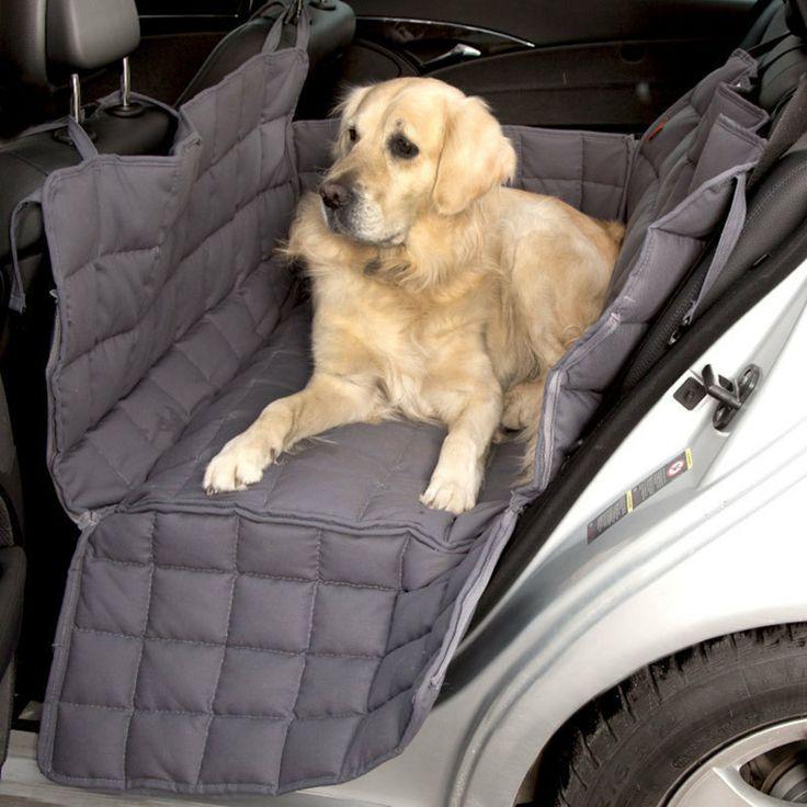 Doctor Bark 2-Sitz Autoschondecke, grau - Petobel