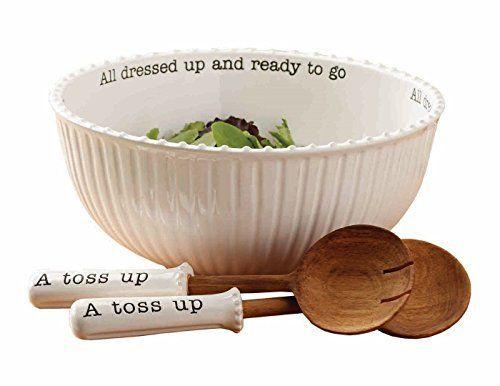 Mud Pie 4601029 Salad Bowl (Set of 3), White Mud Pie http://www.amazon.com/dp/B00W61ZEEI/ref=cm_sw_r_pi_dp_sGFsxb13JVH0A
