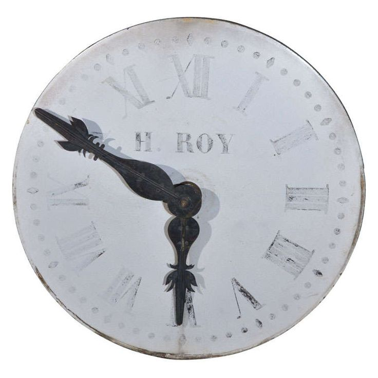 Authentic 19th c. Clockface from a Church in Amiens, France | From a unique collection of antique and modern architectural elements at https://www.1stdibs.com/furniture/building-garden/architectural-elements/