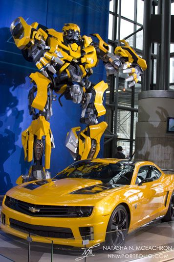 Chevy Camaro Transformers Bumblebee Edition How cool would it be