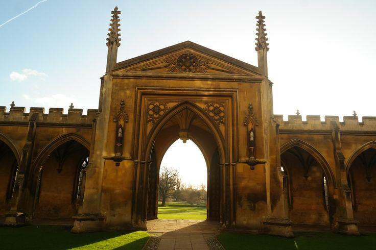 St John's College w #Cambridge #England #Anglia #UK Magda Fijołek pracownik działu Marketingu