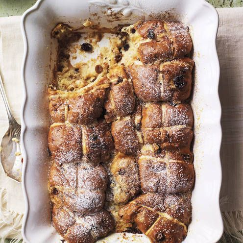This Easter pudding couldn't be simpler to make or more delicious to eat.
