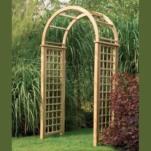 opulent design ideas garden arch with gate simple garden wooden