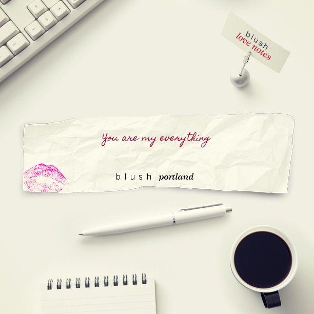 Here's a Blush Love Note http://bit.ly/1rj3sQo #BLUSHNOTES
