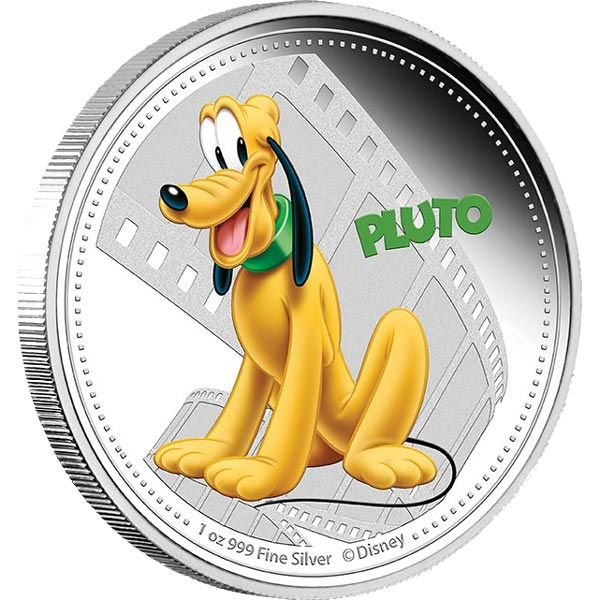Pluto - 1oz pure silver limited edition collectibles