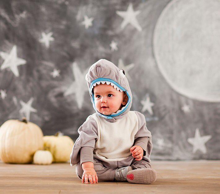 Baby Shark Halloween Costume , 0-6 Months