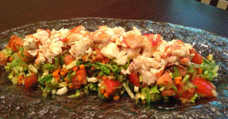 YOSHIKOlicious Beauty lobster salad
